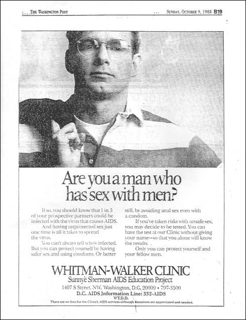 Whitman-Walker ad
